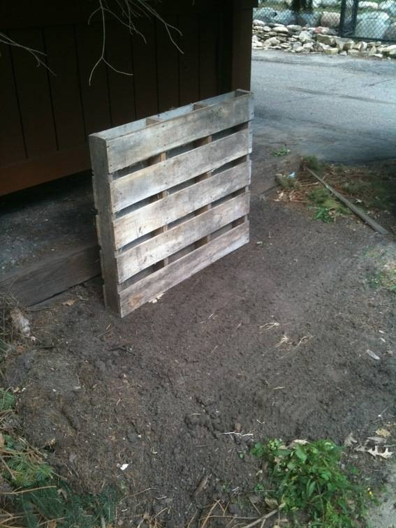 Fitting the pallets together