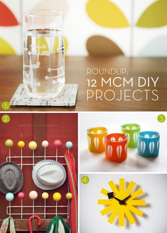 Roundup 12 Mid Century Modern Diy Projects 187 Curbly Diy