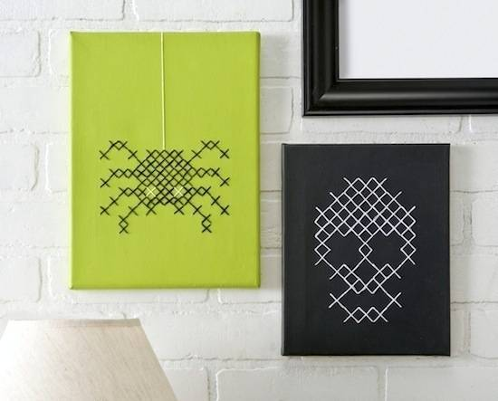 halloween cross stitch diy