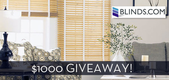 Win a $500 gift card to Blinds.com!