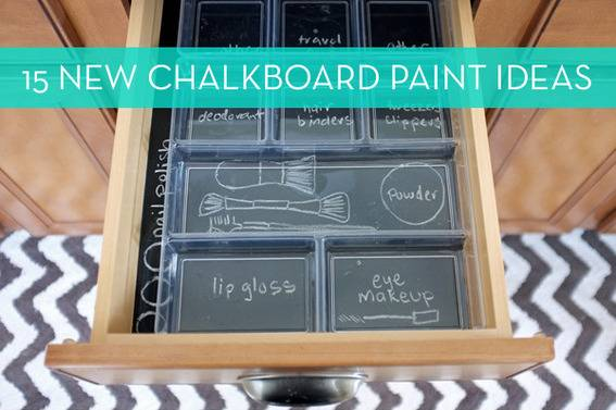 Inventive uses for chalkboard paint