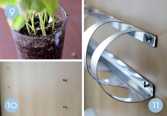 indoor herb garden ikea hack How to: Indoor Herb Garden IKEA Hack - Kitchen & Bath