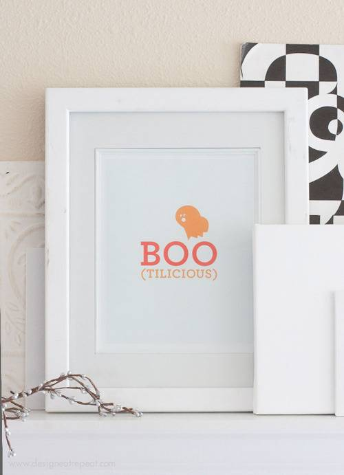 Halloween Printable Wall Art