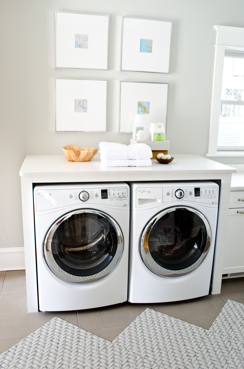 Curbly house laundry room