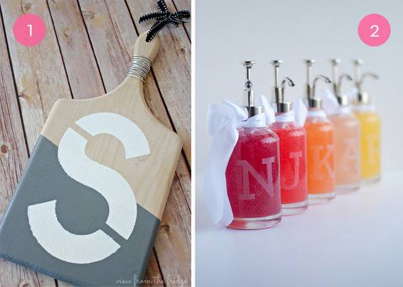 10 Monogram DIY Projects For Your Home