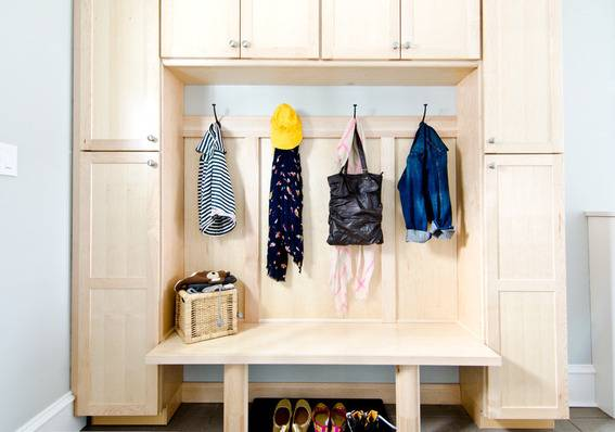 Curbly House Tour // Mudroom - After