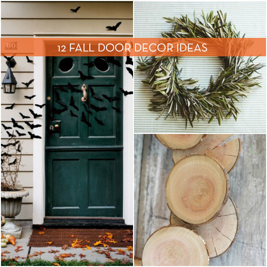12 door decorations for fall