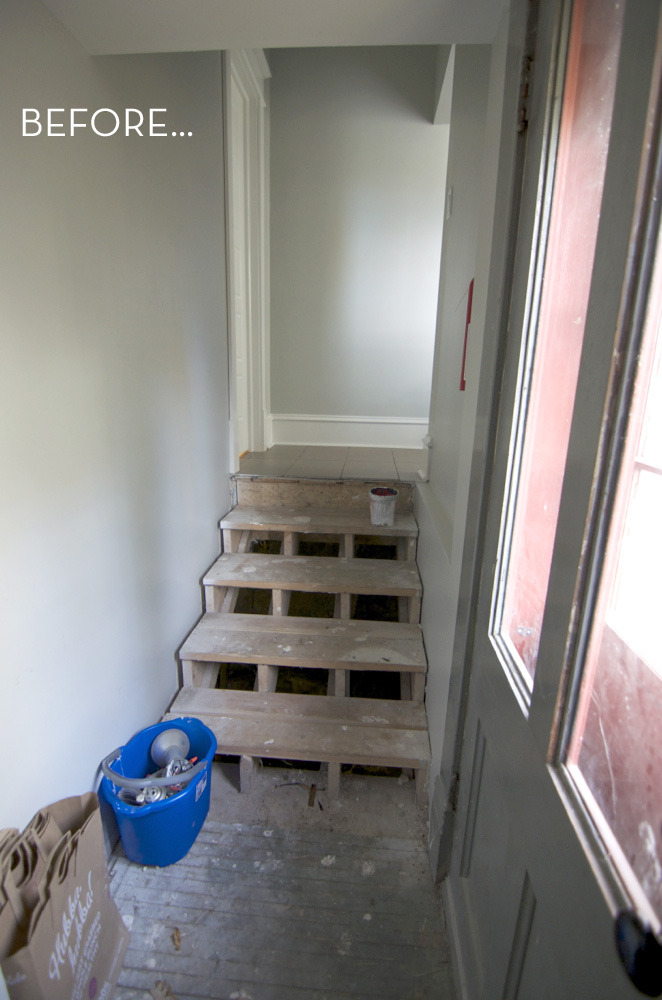 Curbly House Entryway Makeover: Before