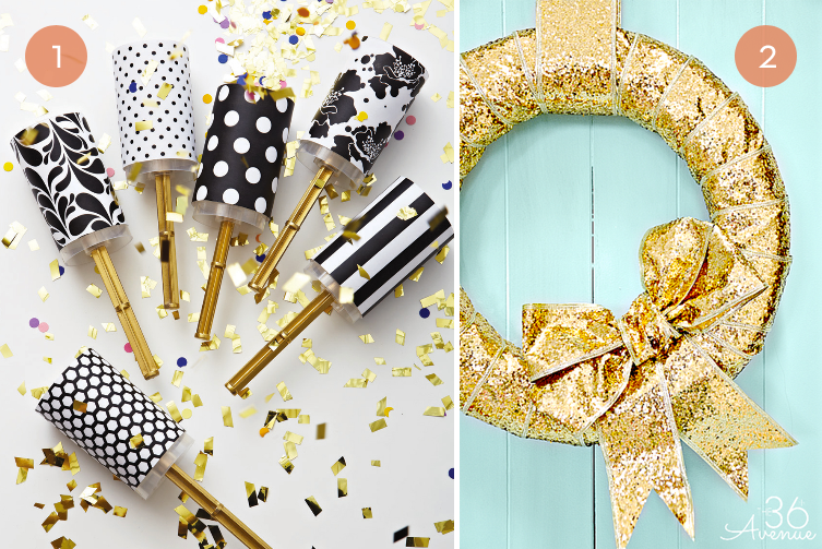 10 Festive DIY Ideas For Your New Year's Eve Party