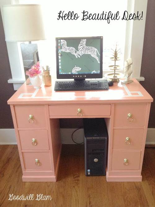 before and after deco dresser
