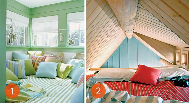 Eye Candy: 10 Cozy, Colorful Reading Nooks