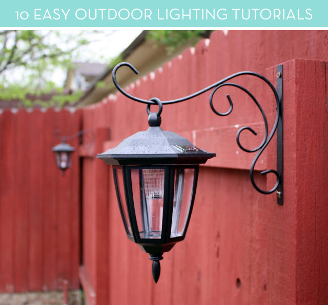 10 Gorgeous DIY Outdoor Lighting Projects
