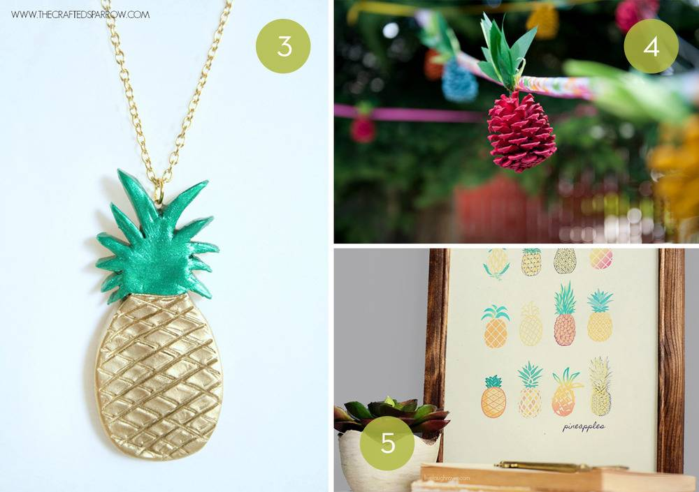 10 DIY Pineapple Projects