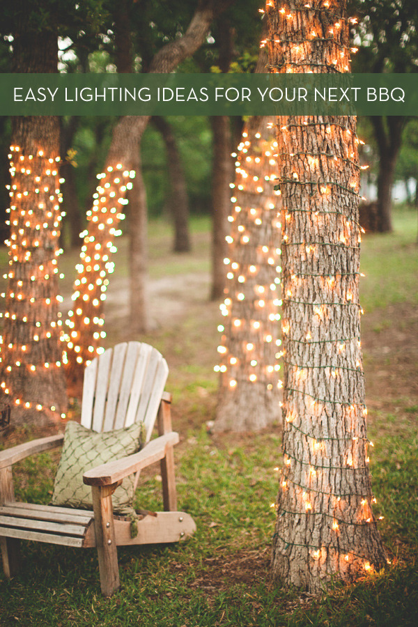 Roundup: Easy DIY Outdoor Entertaining Lighting Ideas