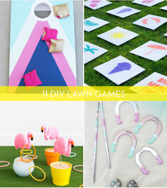 11 Fun DIY Lawn Games For Summer Parties