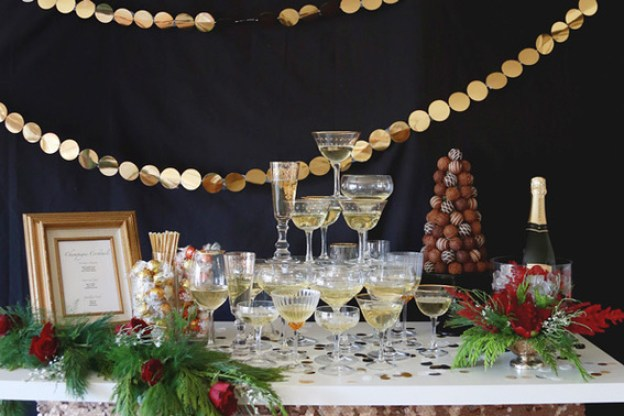 Chocolate and Champagne Holiday Open House