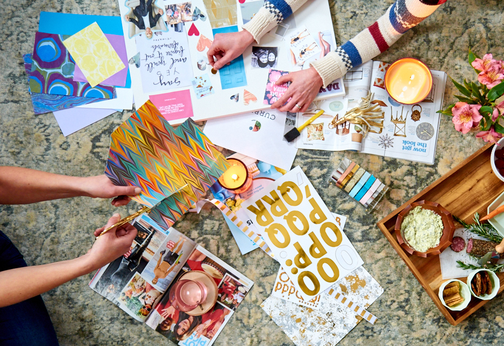 How I Made My New Years Vision Board And Why You Should