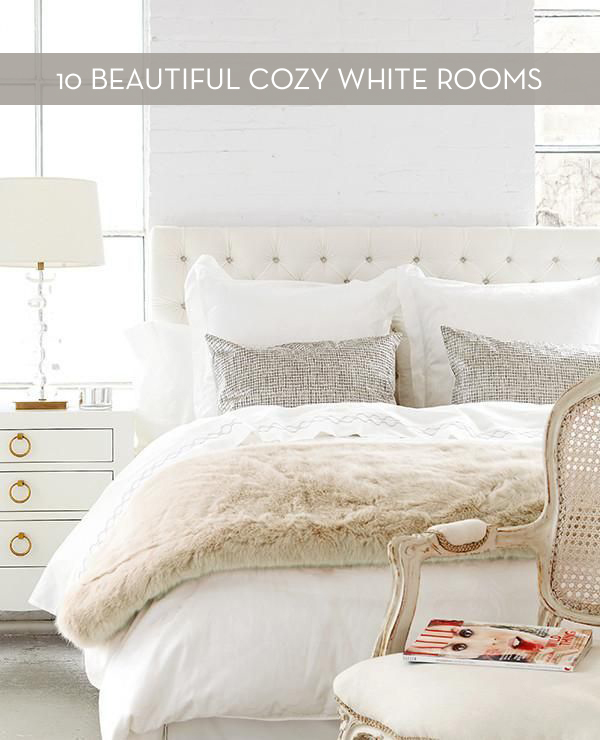 Eye Candy: 10 Cozy Winter White Rooms