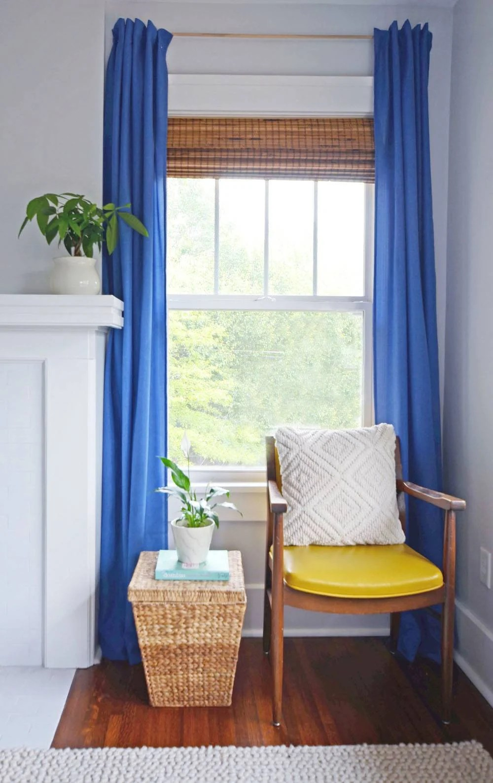 Cheated curtains for renters