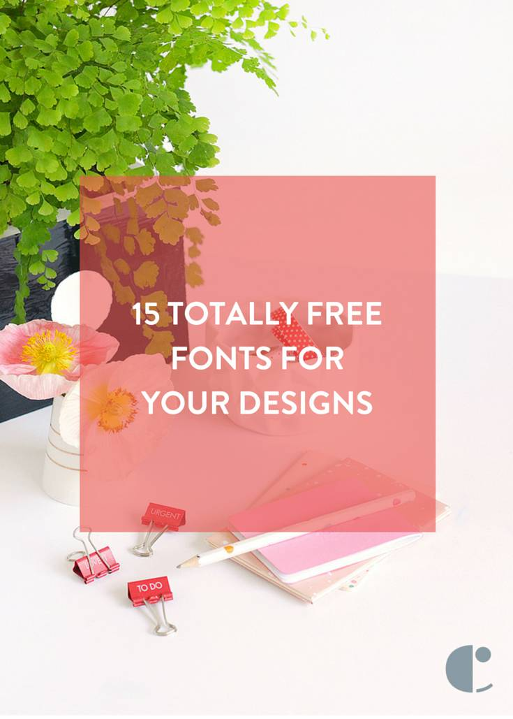 15 best free fonts for your designs