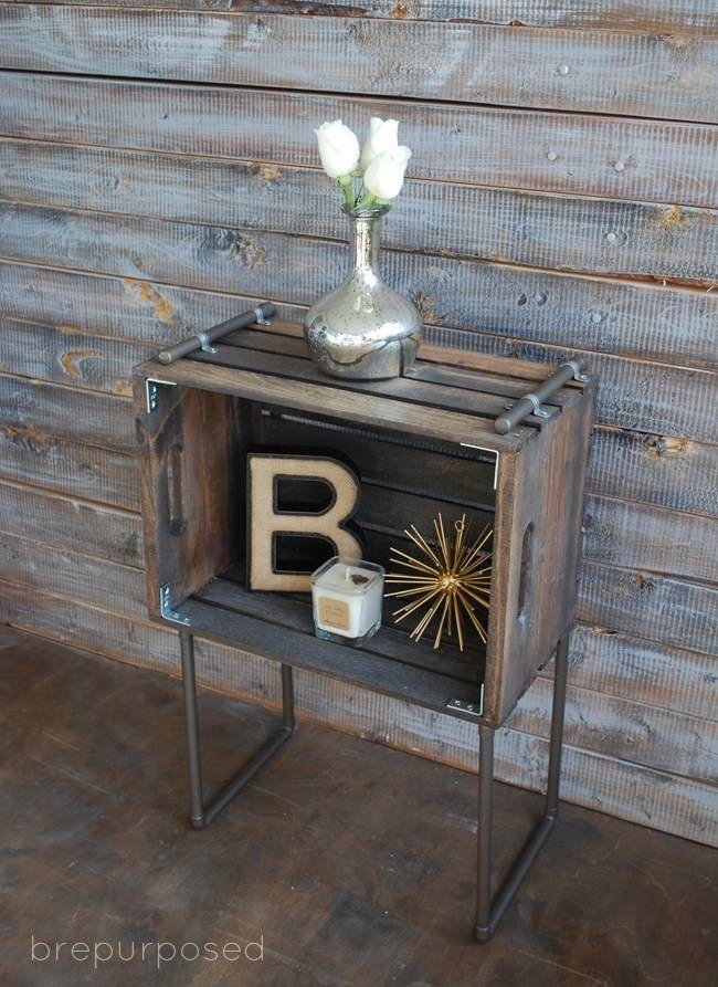 10 DIY Industrial Furniture Project Ideas