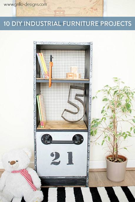 DIY Industrial Furniture Projects
