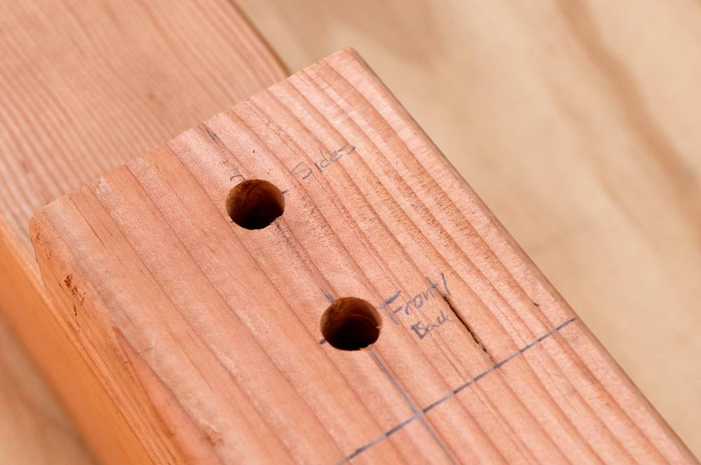 A layout jig for perfectly aligned holes