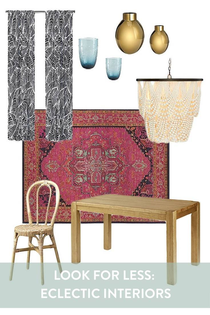 Look for Less: Create an Eclectic Interior on a Budget