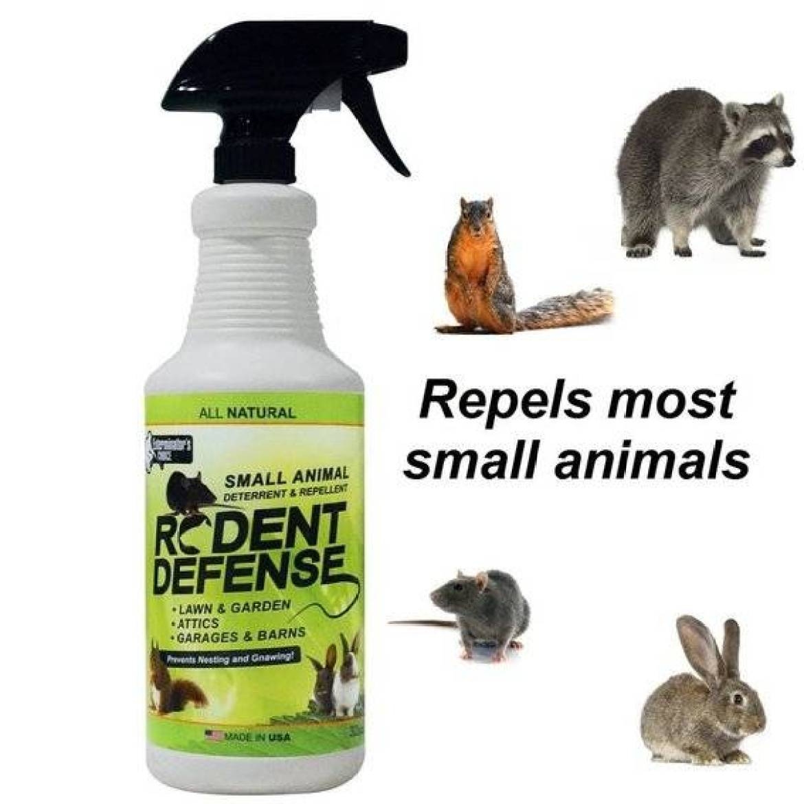 Rodent Defense Squirrel Repellent