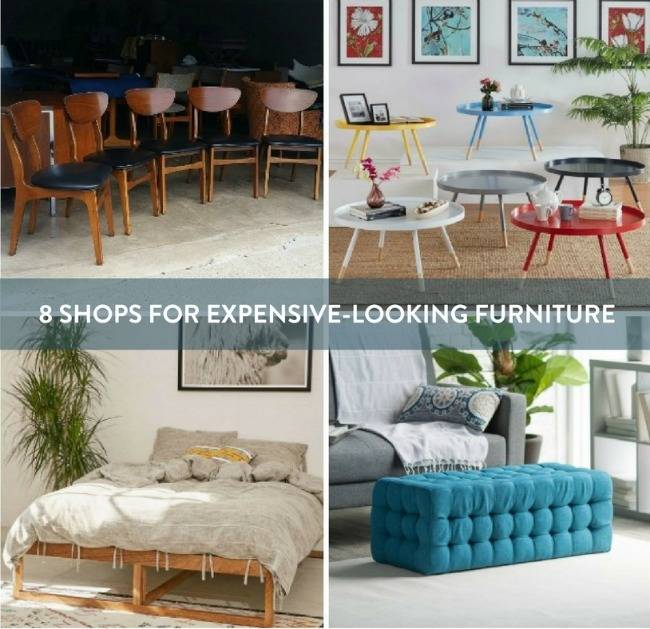 """8 Excellent Shops For """"Expensive""""-looking Furniture On A Budget"""