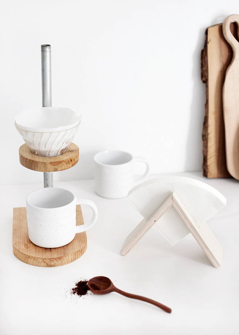 Make It: DIY Coffee Filter Stand