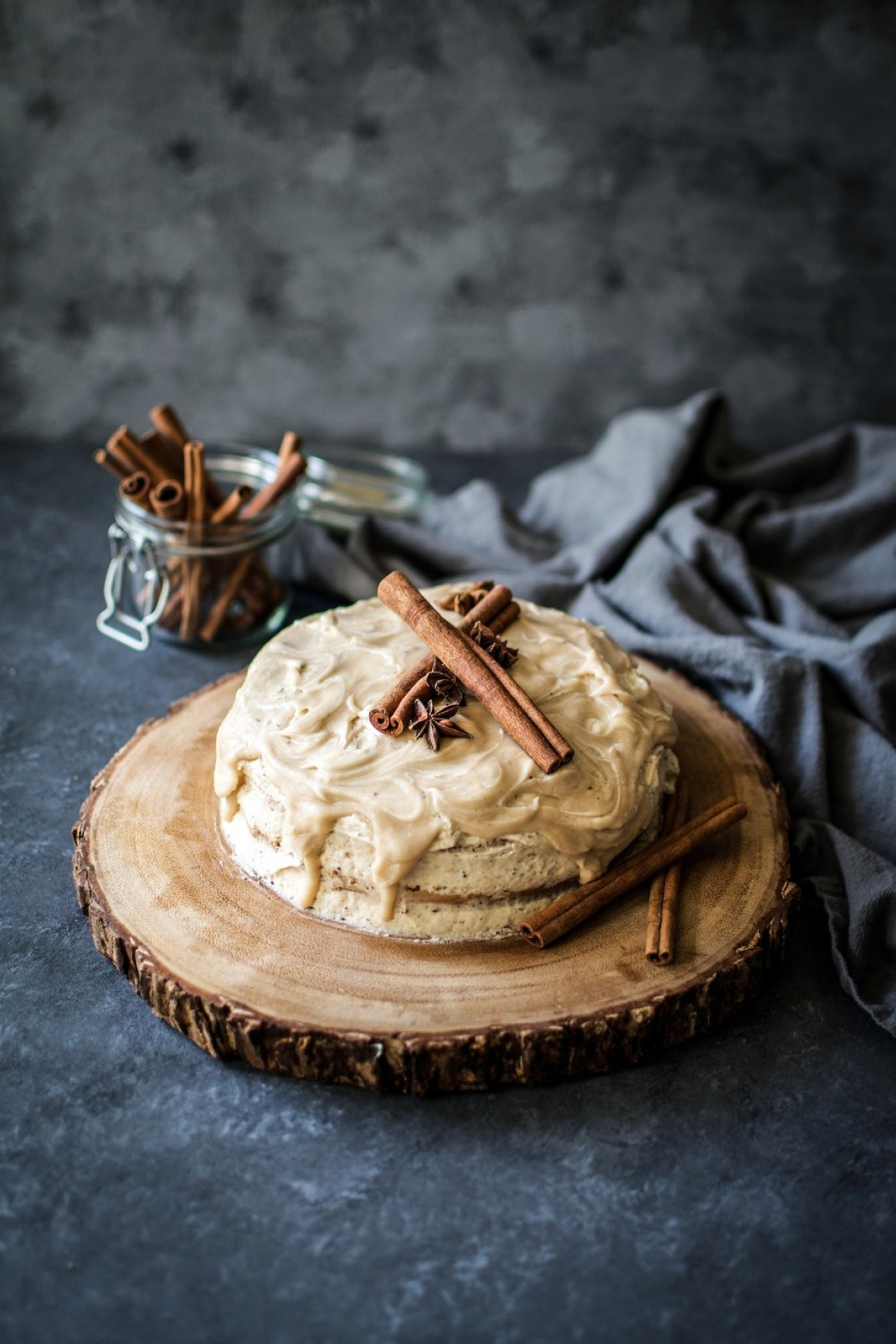 A Delicious Chai Spice Cake To Usher In Autumn