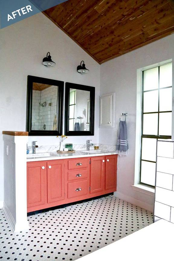 Before and After: A Bold New Bathroom
