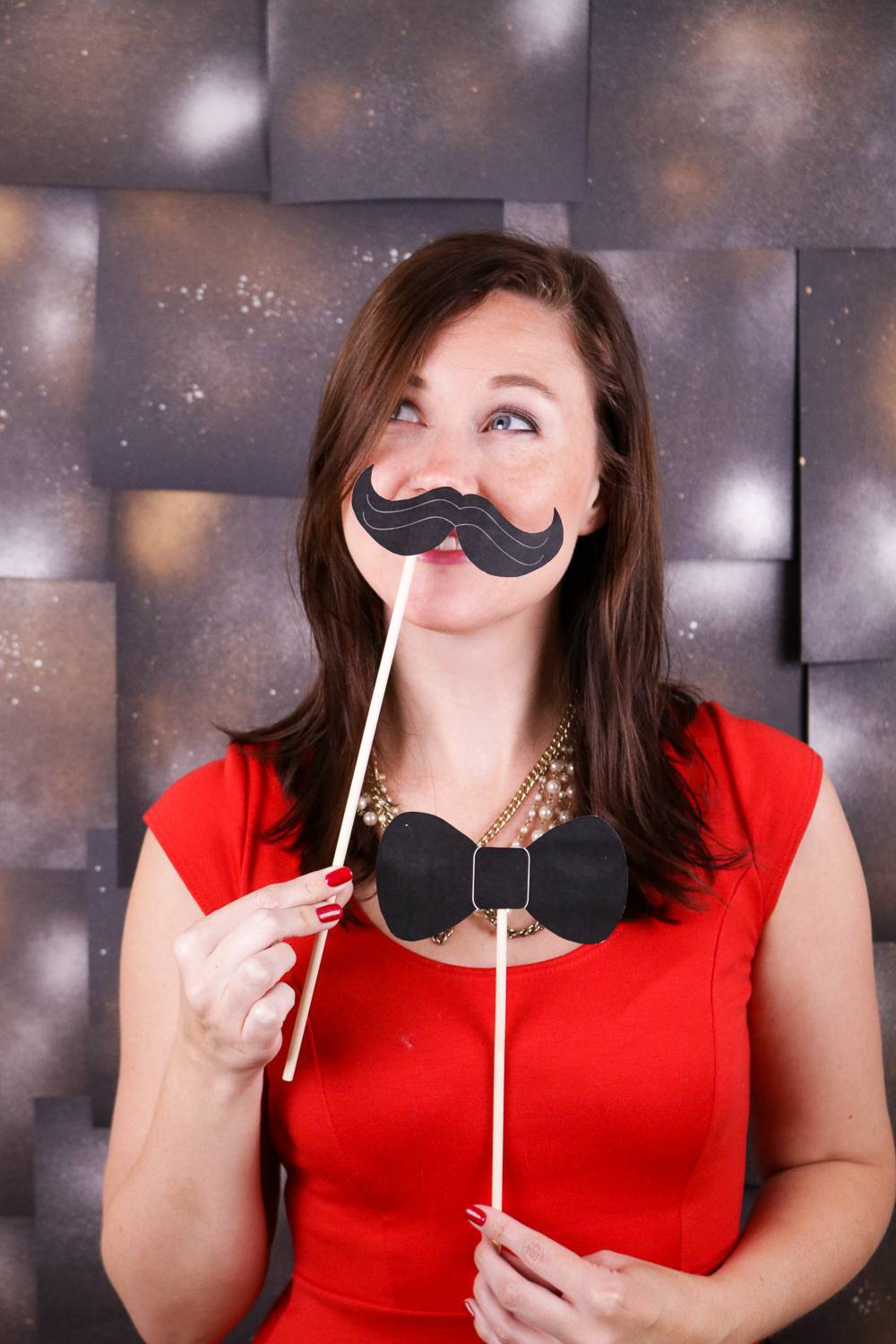Printable Photo Props for New Year's