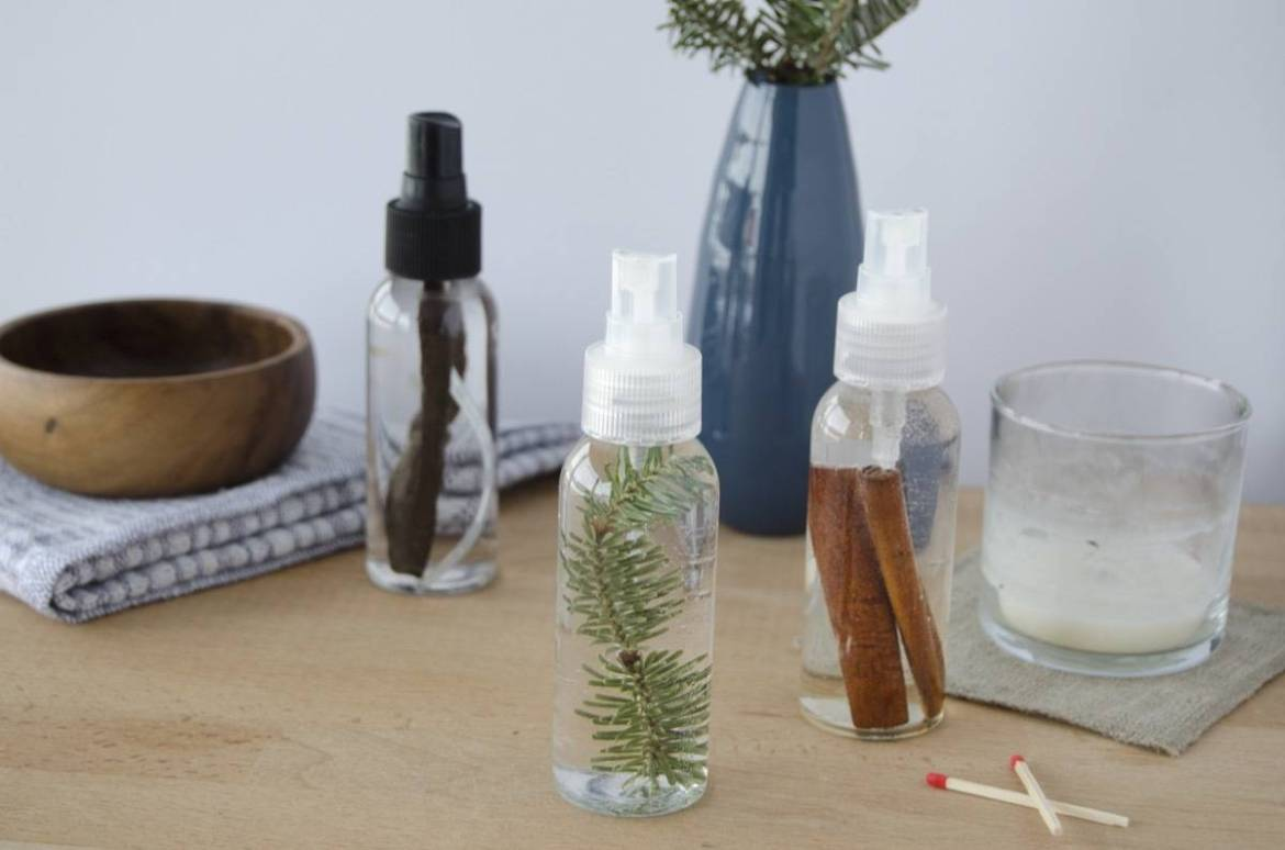 Make this! Refreshing, all-natural room spray to freshen any space.
