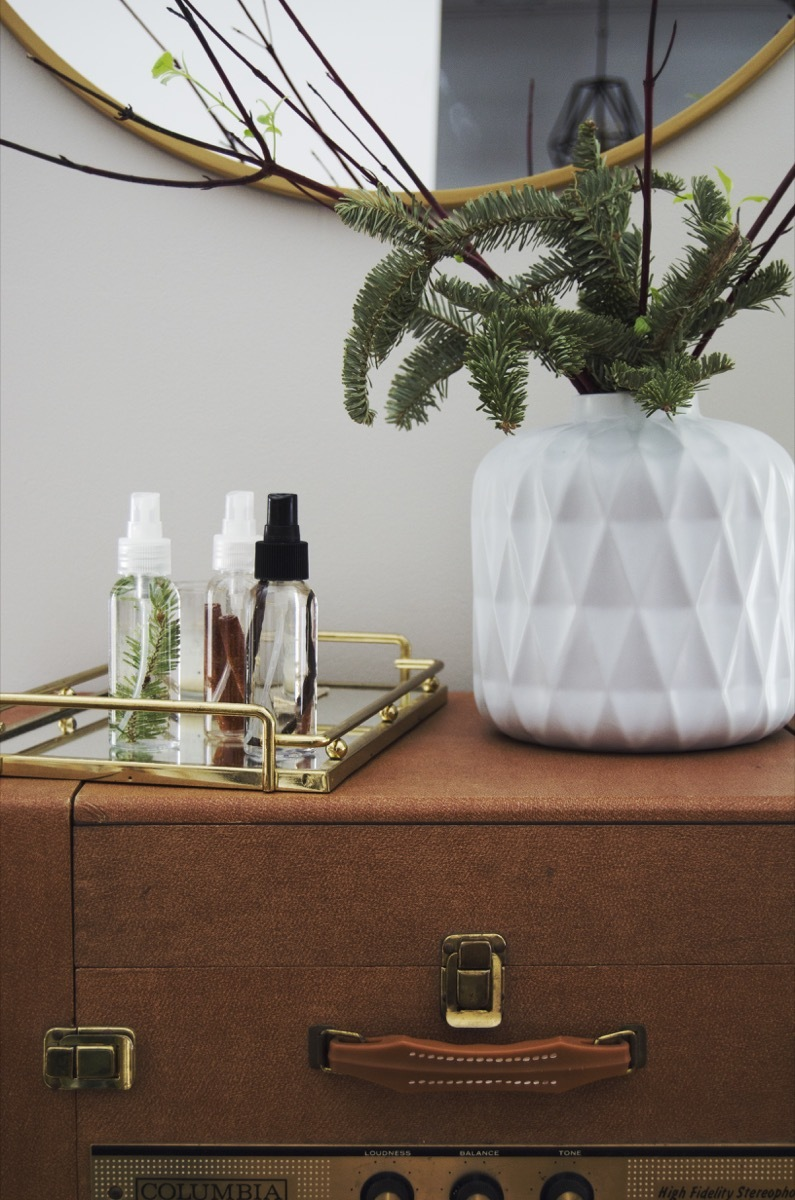 Get your new year off to a fresh start by making your own DIY room sprays.