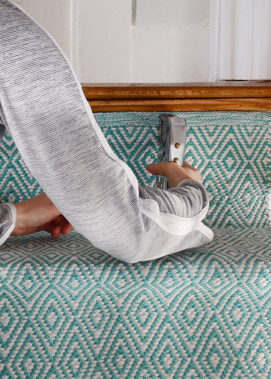 The Easiest Way To Add A Stair Runner For Under $120