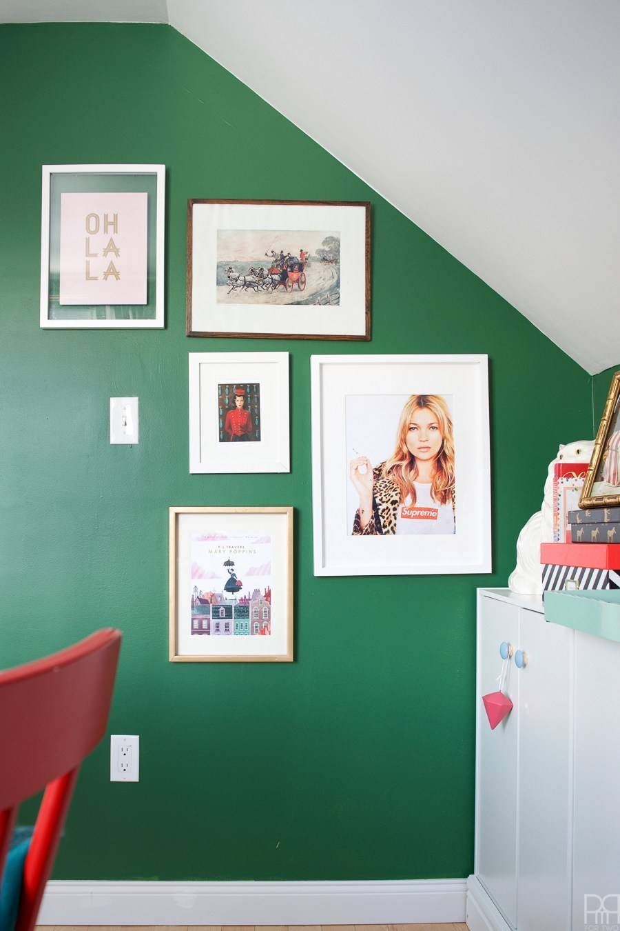 Before and After: A Colorful Office Makeover Tour