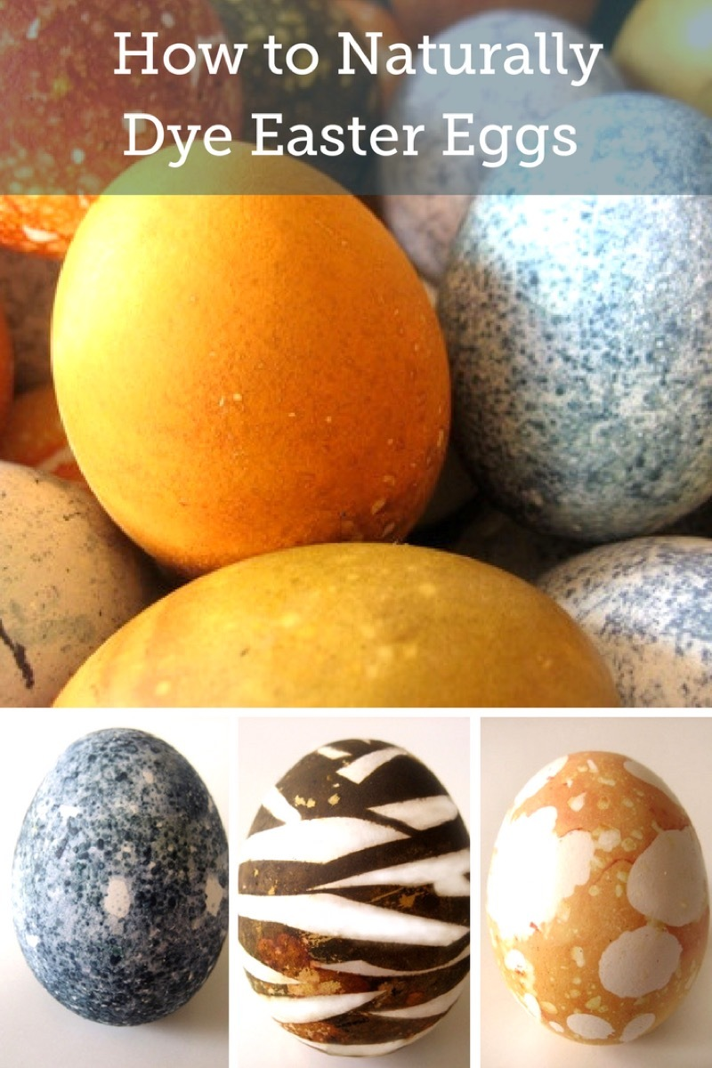 How to Naturally Dye Easter Eggs Using Fruits and Vegetables