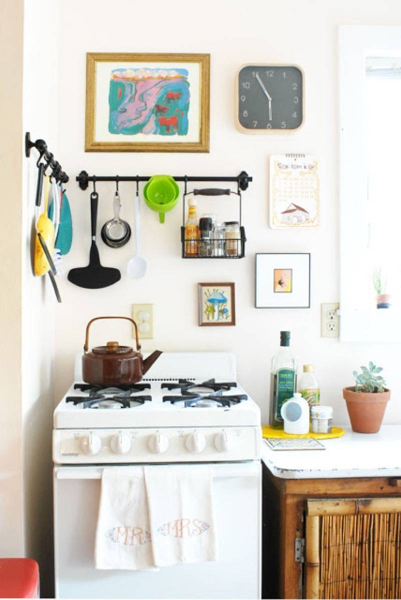 Fintorp Hook System in the Kitchen | 72 Organization Tips and Projects for Every Space in Your Home