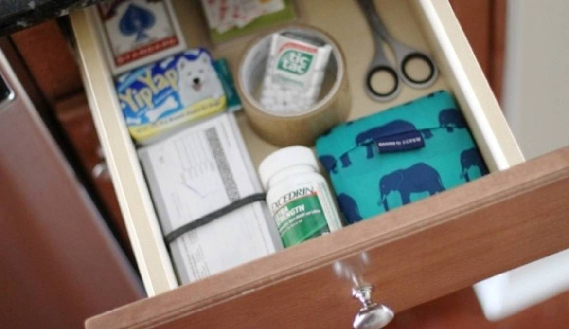 How to Tame a Junk Drawer | 72 Organization Tips and Projects for Every Space in Your Home