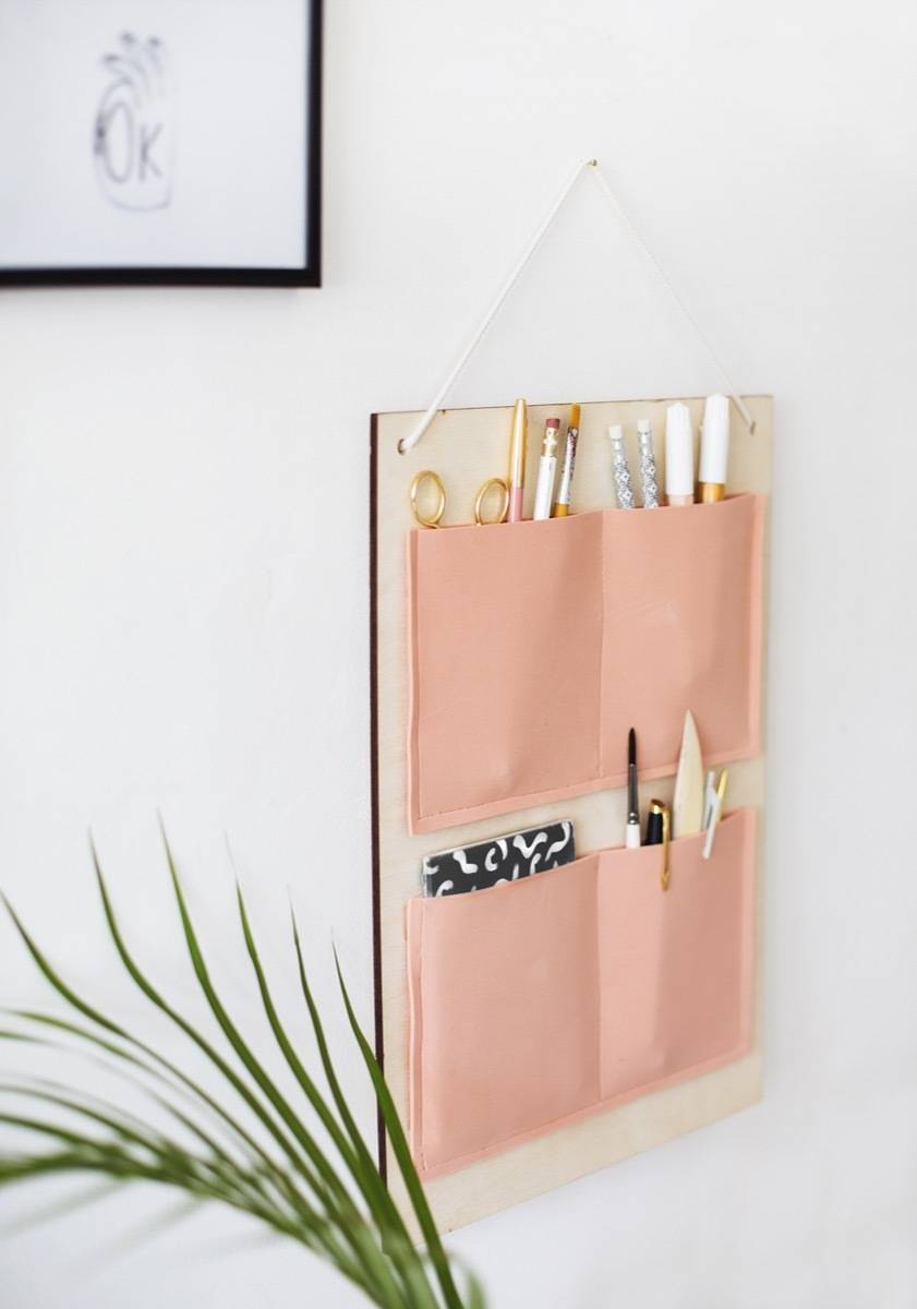 Take your office supplies to the wall | 72 Organization Tips and Projects for Every Space in Your Home