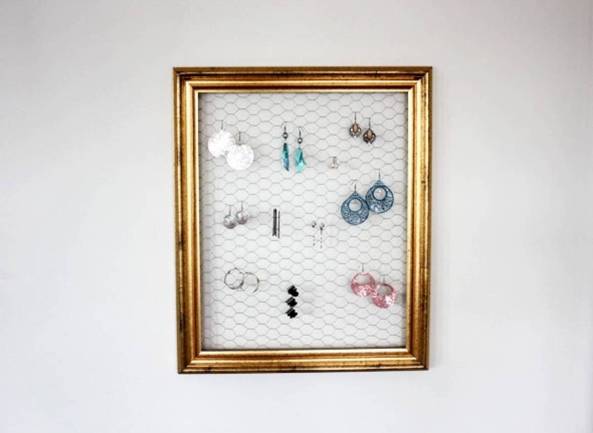 Keep your earrings wired! | 72 Organization Tips and Projects for Every Space in Your Home