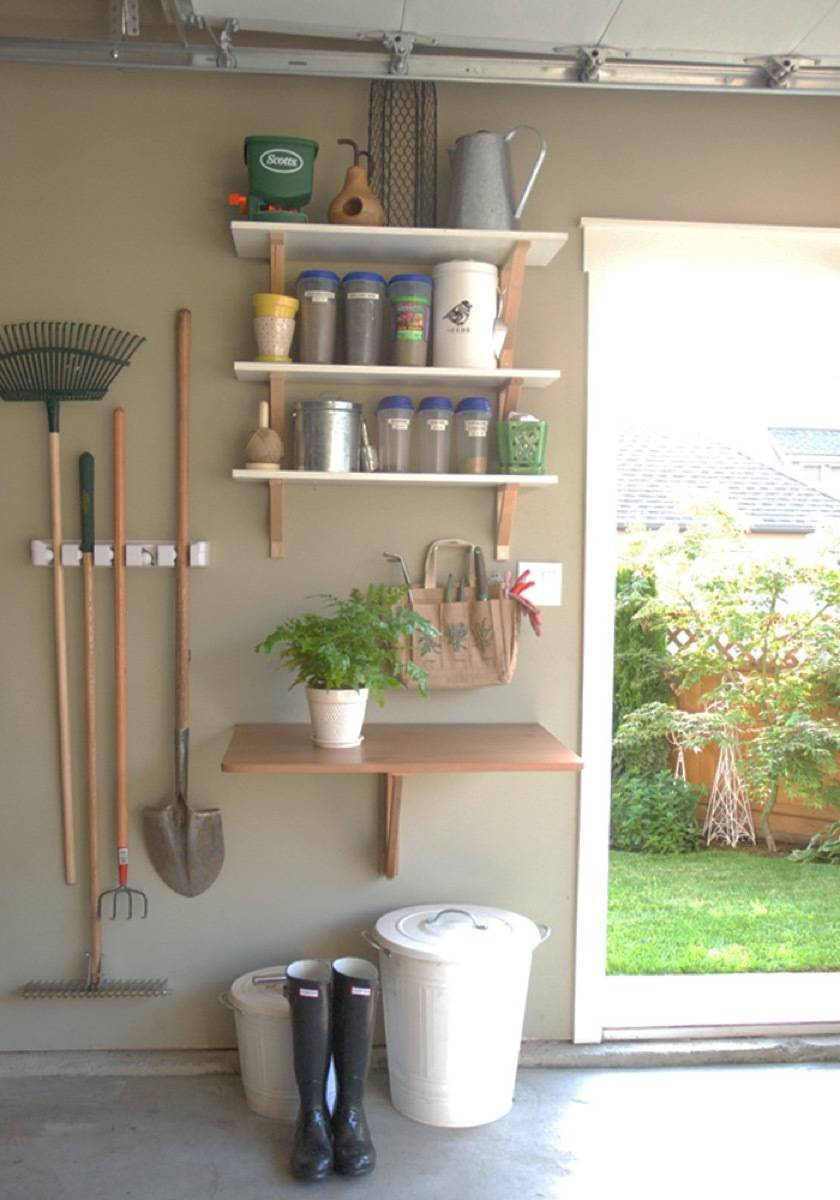 Keep like-items together in the garage | 72 Organization Tips and Projects for Every Space in Your Home
