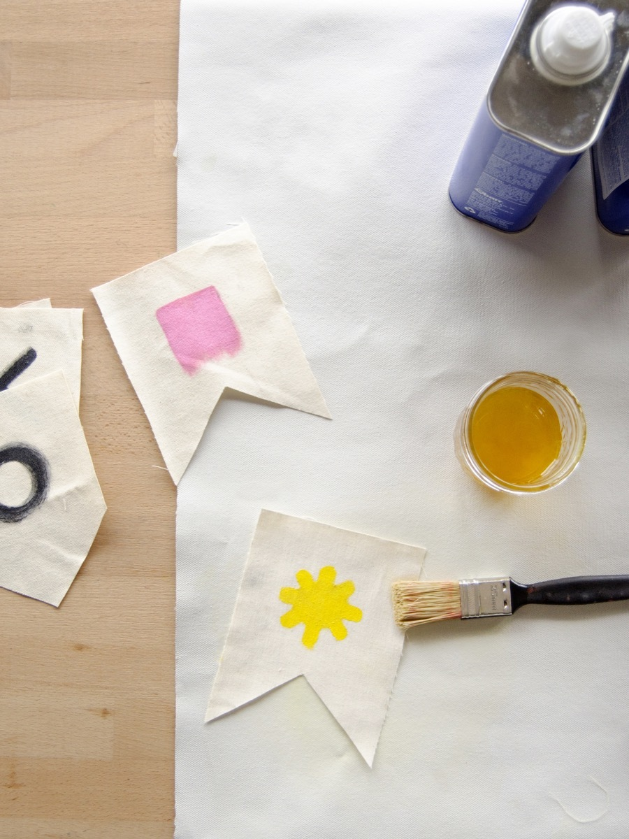 Learn how to make oilcloth fabric