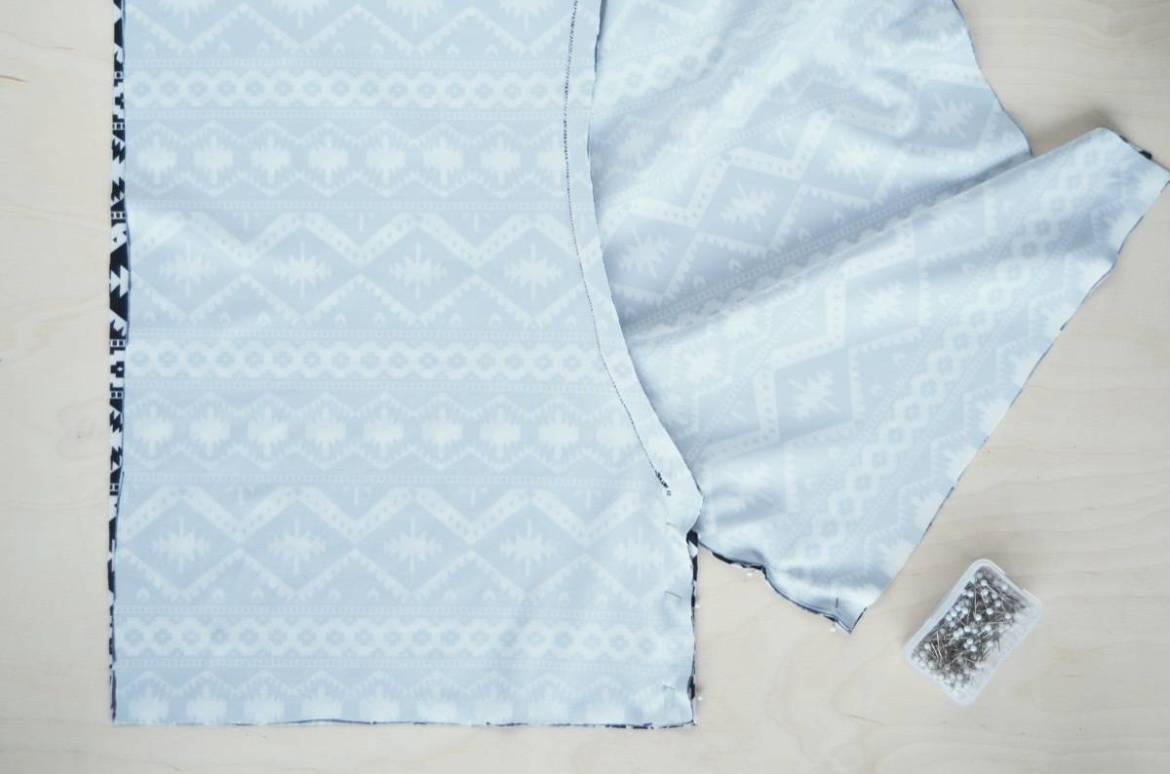 How to sew shorts without needing a pattern, in under an hour!