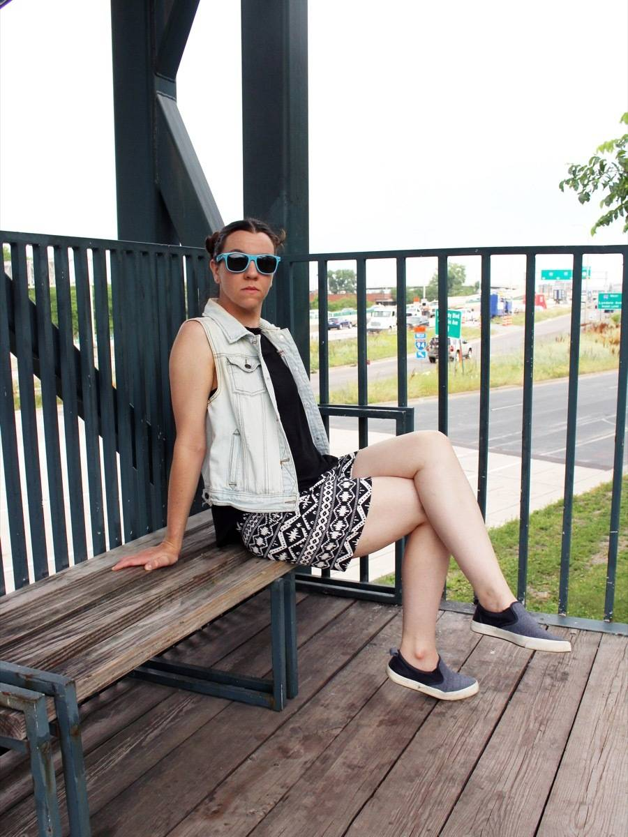 DIY Your Wardrobe!: How to make shorts without a pattern