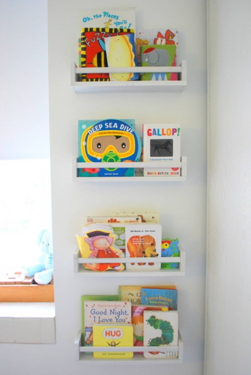 Storage solution from The Sweetest Digs | 75 DIY Kids Decor Ideas