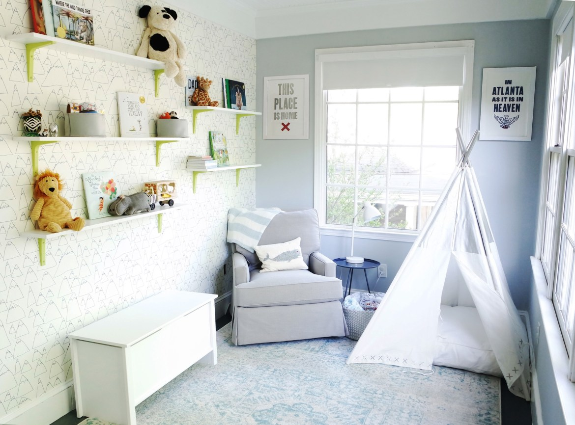 Playroom makeover reveal - creating space for a growing family