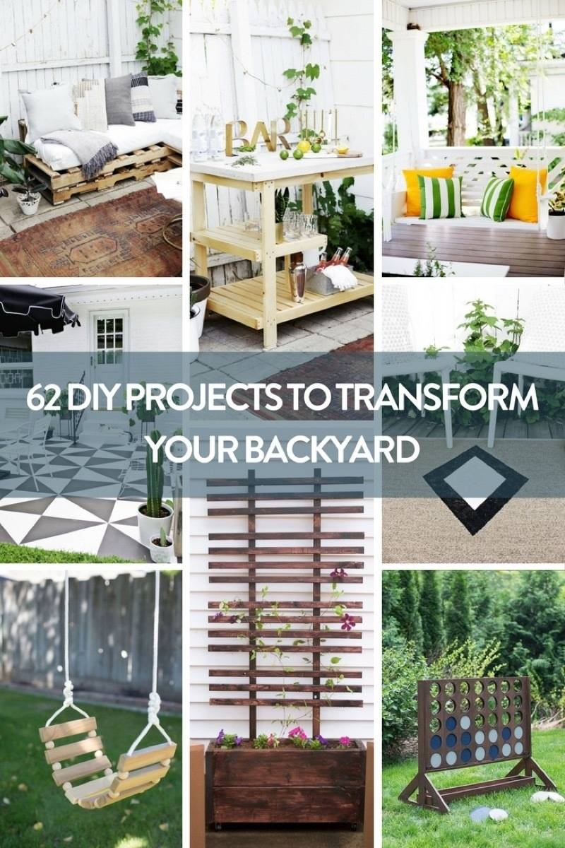 62 DIY Projects for Outdoor Space